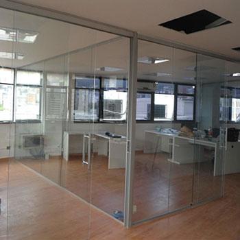 divisoria de vidros